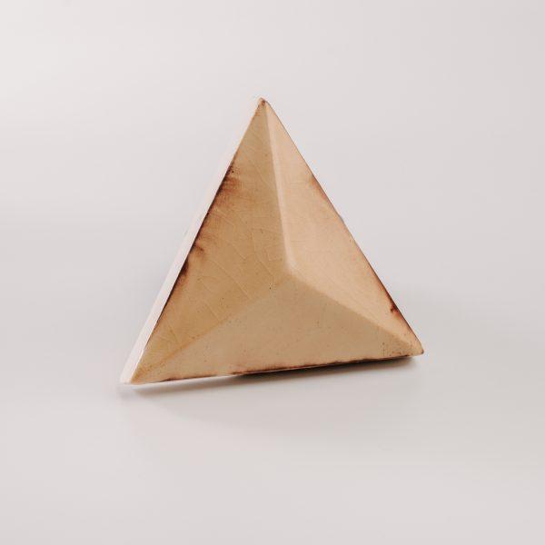 Piramis csempe rozsdás sárga - rusty yellow